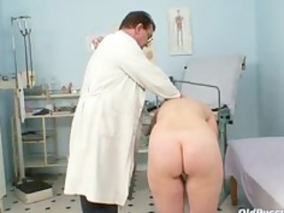 older old cum-hole gyno speculum scrutiny with