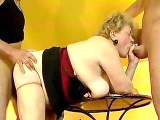 obese old grandma acquires drilled by favourable