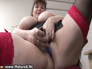 lewd obese older lady bonks part1