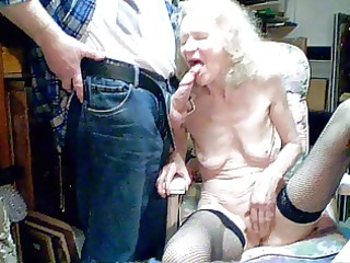 old granny 40 years engulf by grandson
