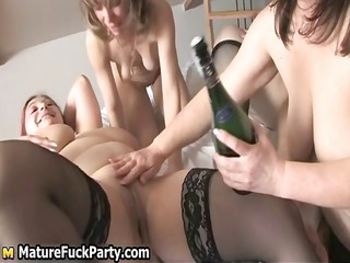 excited plump aged wifes fucking part11