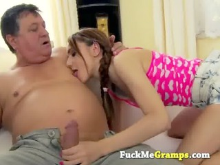 she is really loves the old stud