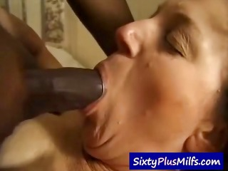 grandma hard fucked by cumming dark chap