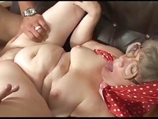 granny acquires the best agonorgasmos of h
