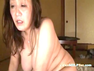plump aged woman drilled hard by spouse creampie