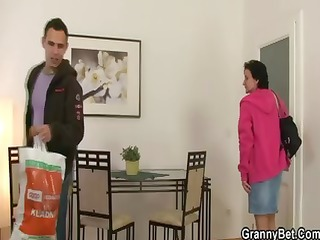 he is brings her home to group sex her old cookie